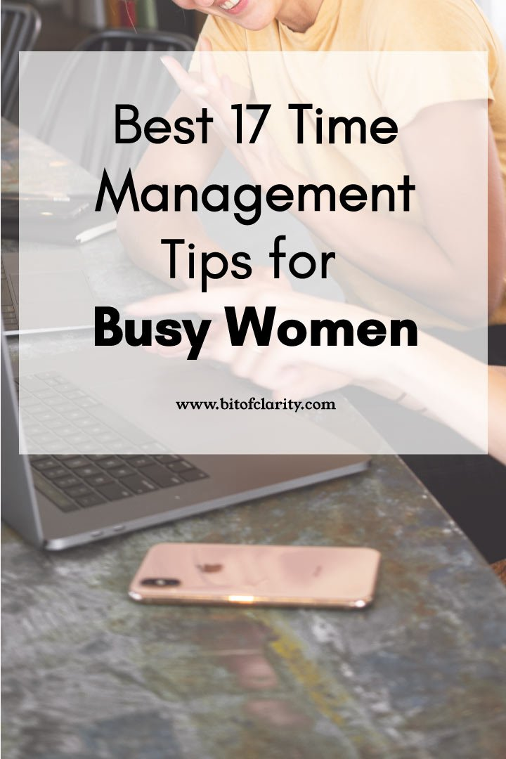 Time Management Tips for Busy Women