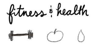 bullet journal symbol fitness and health