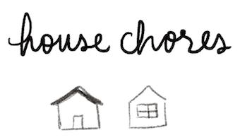 bullet journal symbol house chores