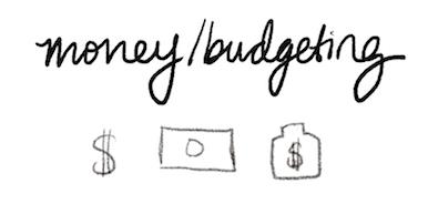 bullet journal symbol money budgeting
