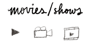 bullet journal symbol movies