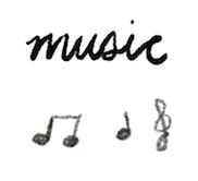bullet journal symbol music