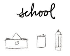 bullet journal symbol school