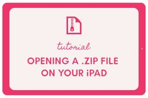 How to Open a .ZIP File on your iPad 2020