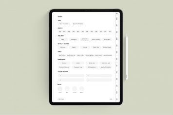 Grey Undated Digital Clarity Planner
