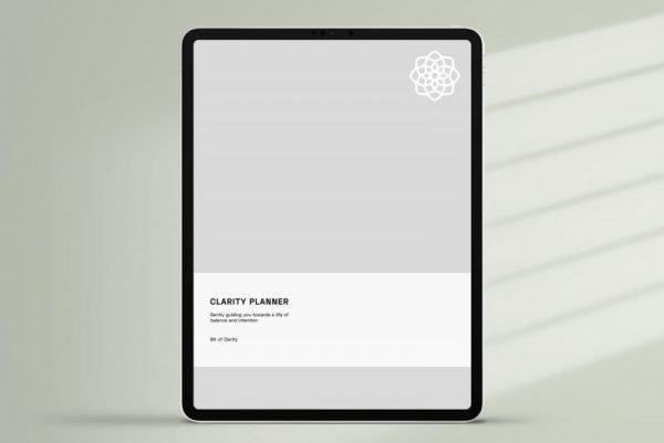 Minimalist Digital Planner cover