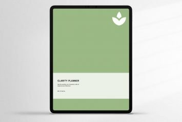 Matcha Undated Digital Clarity Planner