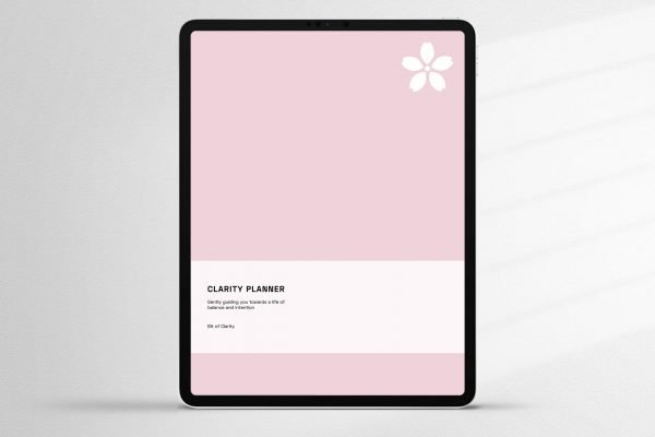 Pink Clarity Planner