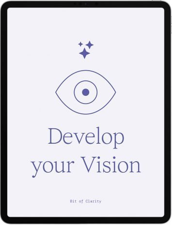 develop your vision life clarity guide