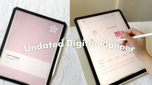How I use My Undated Digital Planner | Plan with Me